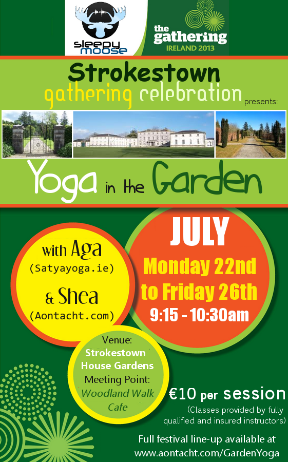 Yoga in the Garden (Click to download festival schedule)