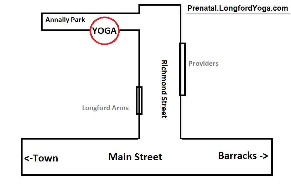 Aontacht Yoga Map Longford Town Karate Dojo Fitness Centre 2018